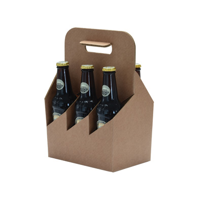 Boîtages 6 bouteilles de bière hautes