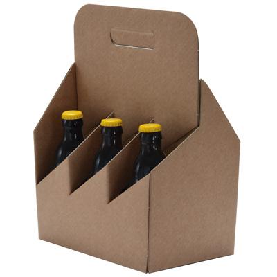 Boîtages 6 bouteilles de bière larges