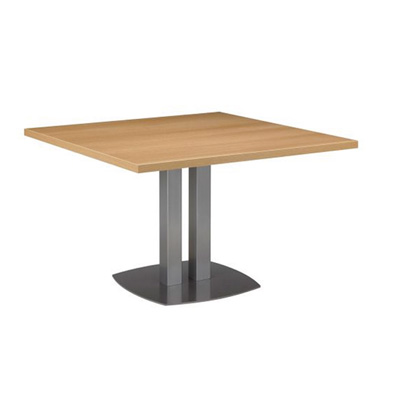 Table de réunion 4 coins droits