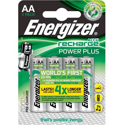 Piles rechargeables LR06 AA Energizer power plus