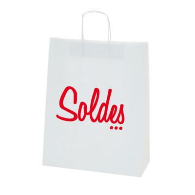 "Sacs Kraft ""Soldes"""
