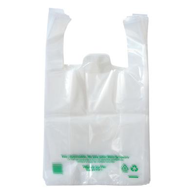 Sacs plastique bretelles pour boîtes pâtissières