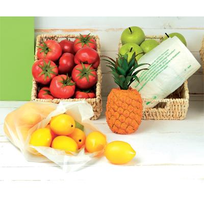 Sacs plastique biodégradables et compostables