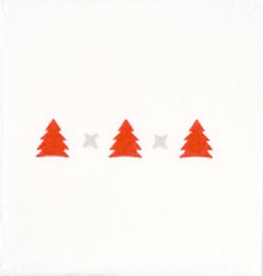 Serviettes à motif Noël
