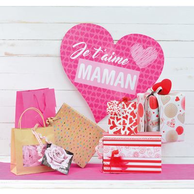 Papier cadeau Love Story