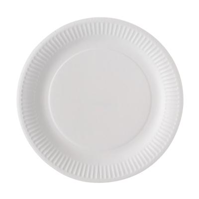 Assiettes plates en carton