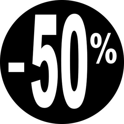 Gommettes adhésives -50%