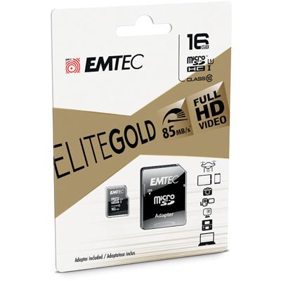 Carte mémoire Micro SD Emtec 16 Gb