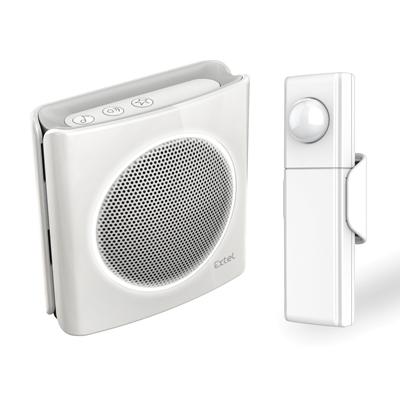 Carillon sans fil + détecteur de mouvements