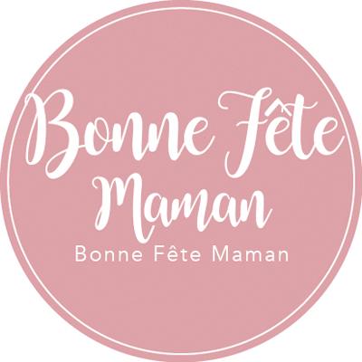 """Étiquettes cadeaux adhésives """"Bonne fêtes Maman"""""""