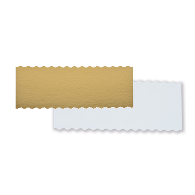 Semelles en carton pour boîte à bûche