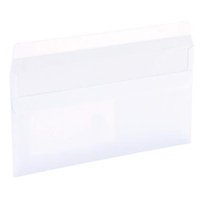 Enveloppes à fenêtre fermeture autocollante