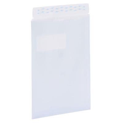 Enveloppes à fenêtre fermeture bande adhésive
