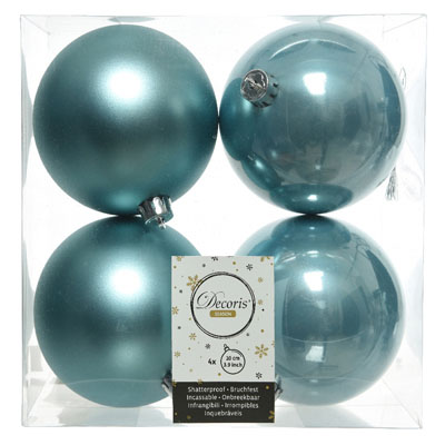 4 boules de Noël