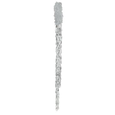 Suspension stalactite pailletée