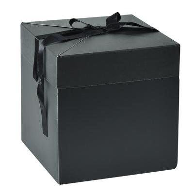 Boîte cadobox avec noeud en satin