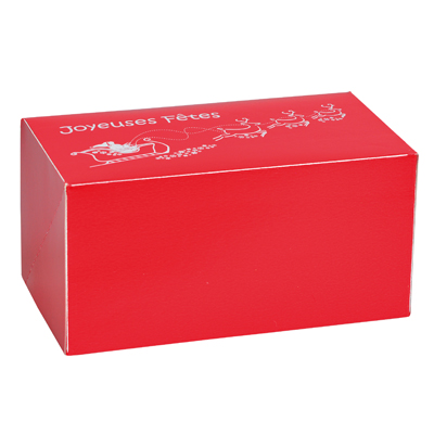 Boîtes à bûche de Noël
