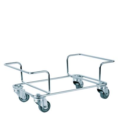 Chariot à roulettes pour paniers libre service 22 et 28 L