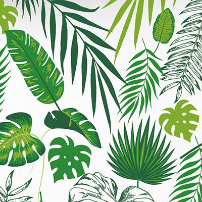 Papier cadeau Tropical