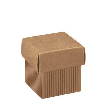 Boîtes carrées à couvercle