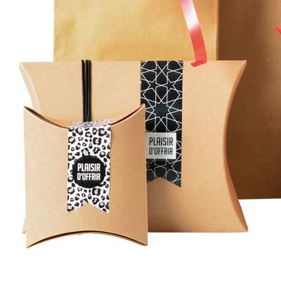 Étiquettes adhésives pour sacs Plaisir d'offrir