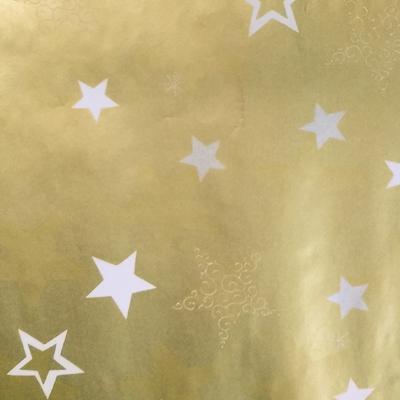 Papier cadeau de Noël Star
