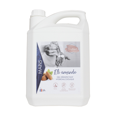 Gel hydroalcoolique parfum Amande