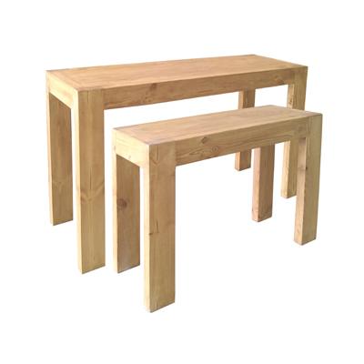 Tables gigognes en bois