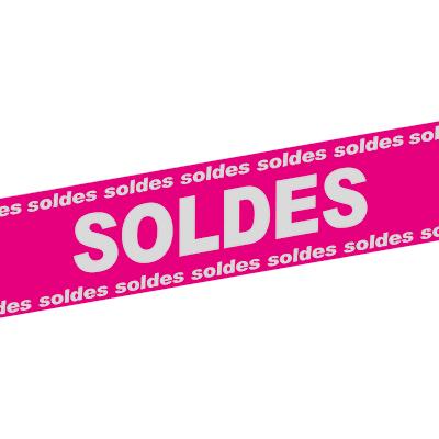 Banderole Soldes