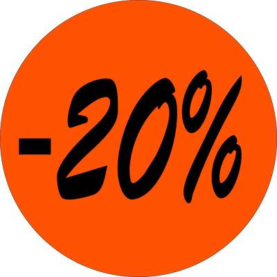Gommettes adhésives -20%