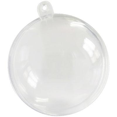 Boule Plexi transparente 12 cm