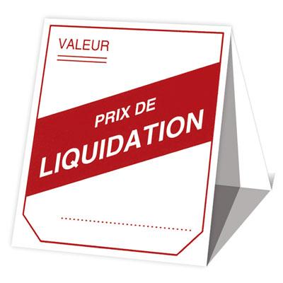 Étiquettes à cheval Liquidation