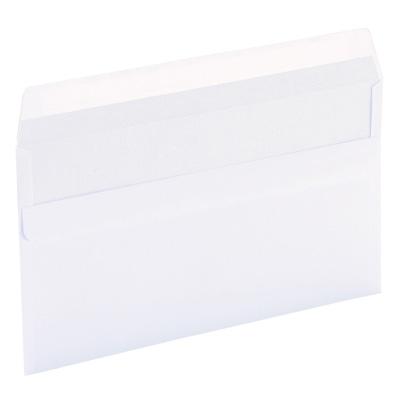 Enveloppes blanches fermeture autocollante