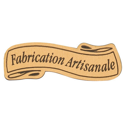 Étiquettes cadeaux adhésives  Fabrication artisanale