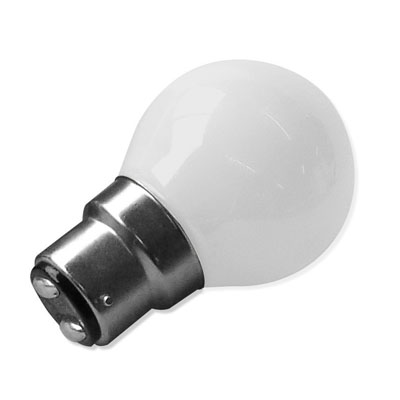 Ampoules LED B22 Blanches chaud