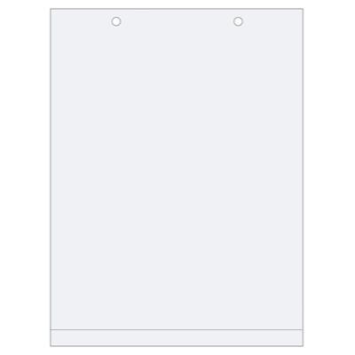 Porte-affiche PVC anti reflet