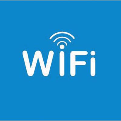 Pictogramme adhésif Wifi
