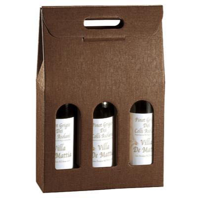 Boîtages 3 bouteilles carton