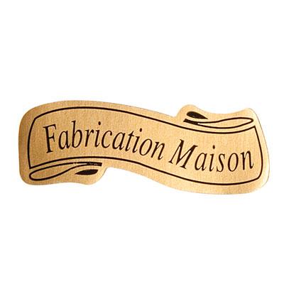 Étiquettes cadeaux adhésives Fabrication maison