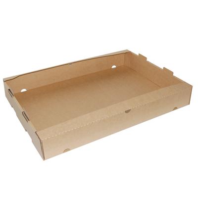 cagettes carton empilables l 64 x p 42 x h 9 cm. Black Bedroom Furniture Sets. Home Design Ideas