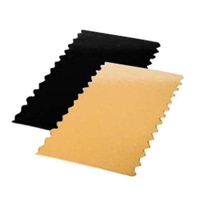 semelles en carton or pour bo te b che or noir l 25 x p 10 cm. Black Bedroom Furniture Sets. Home Design Ideas