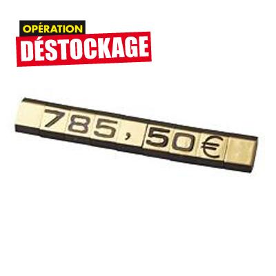 Sigle Euro pour code 4418