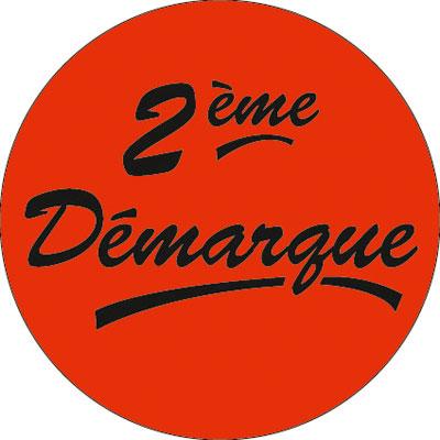 Gommettes adhésives 2ème Démarque