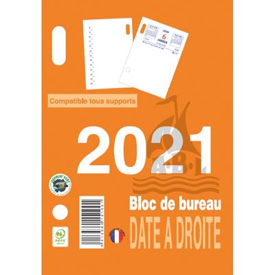 Recharge bloc éphéméride 2021