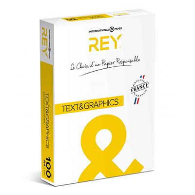 Papier Rey Text et graphics