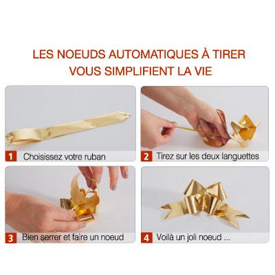 Noeuds automatiques Happy Paper