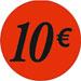 Gommettes adhésives 10€