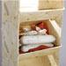 Présentoir Izzibox en bois coloris Naturel