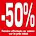 Affiche -50%