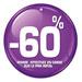Etiquettes à trou rondes -60%